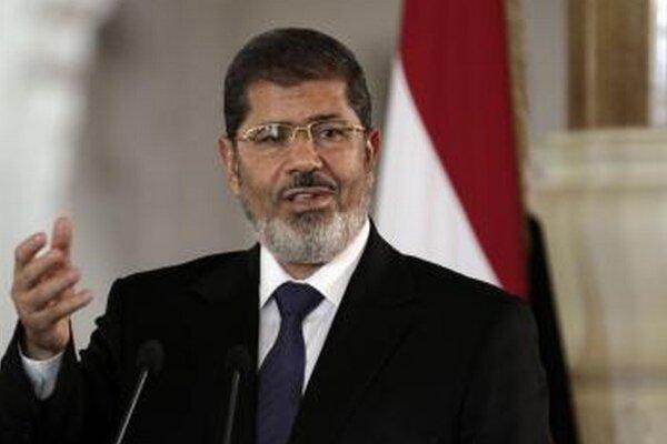 Muhammad Mursí ešte ako prezident.
