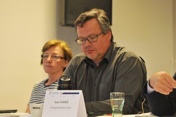 Na snímke prezident Slovenskej lyžiarskej asociácie (SLA) Ivan Ivanič.