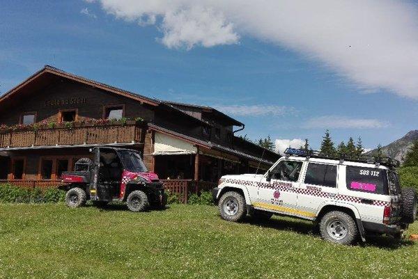 Horskí záchranári zasahovali pri Chate na Grúni.