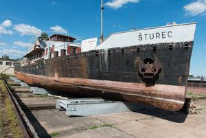 Remorkér Šturec bude v sobotu po prvý krát prístupný verejnosti.
