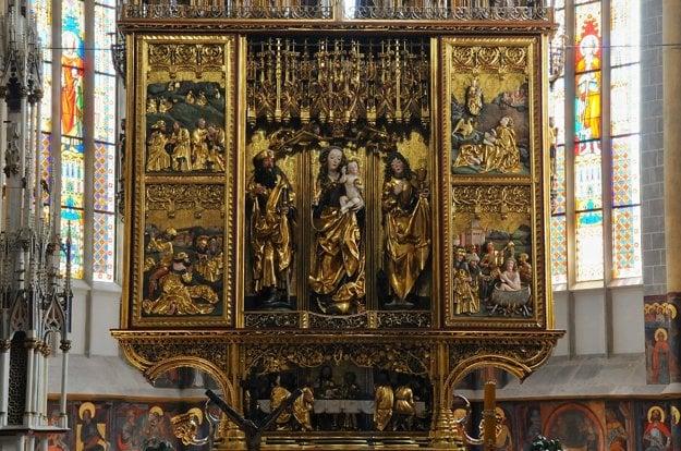 Oltár Majstra Pavla v Levoči.