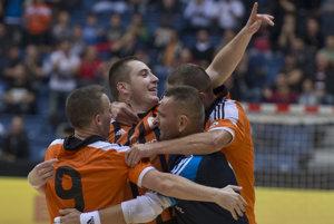 Futsalisti Slov-maticu už nebudú hrávať v tradičných oranžových dresoch.