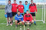 Víťazný tím FC Cuketa.
