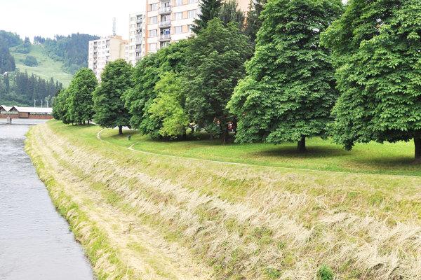 Po nábreží povedie cyklotrasa dlhá približne 1,5 kilometra.