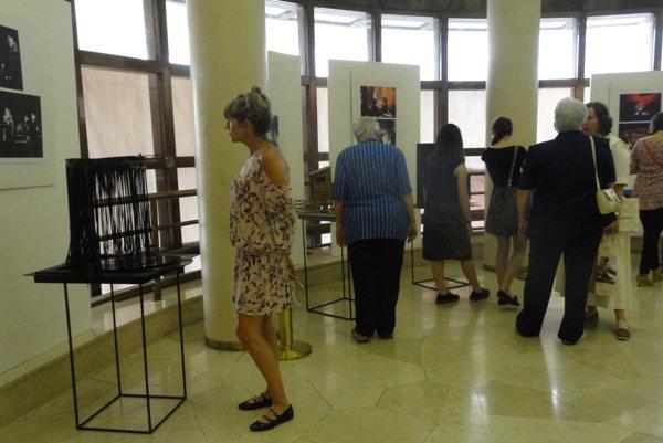 Výstava vo foyer DAB potrvá do 10. septembra.