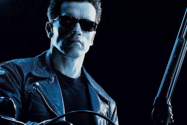 Arnold Schwarzenegger ako Terminátor.