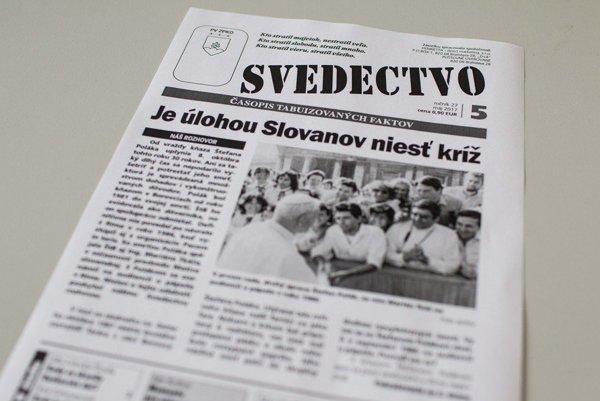 Časopis Svedectvo.