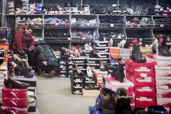 Predajňa obuvi. Ilustračné foto.