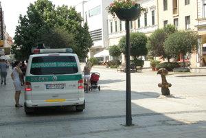 Niekoľko hodín po náraze boli na miesto privolaní dopravní policajti.