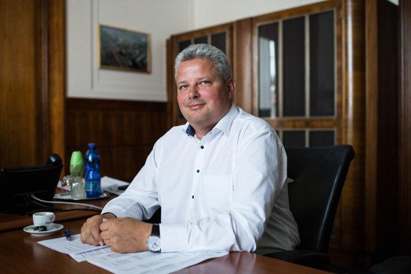 Generálny riaditeľ Železníc Slovenskej republiky Martin Erdössy