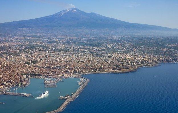 Etna a Catania