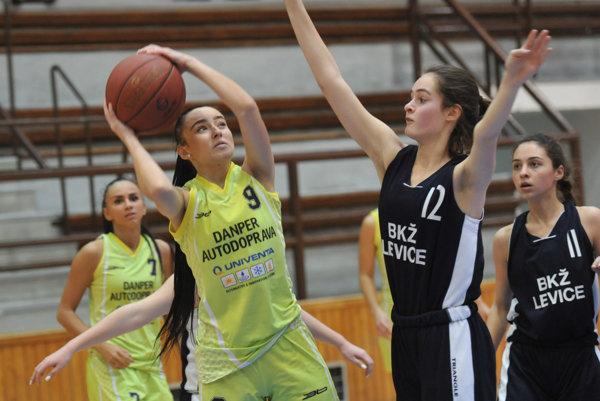Prešovské basketbalistky.