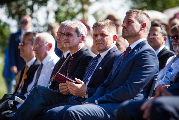 Robert Fico na slávnostiach na Devíne.