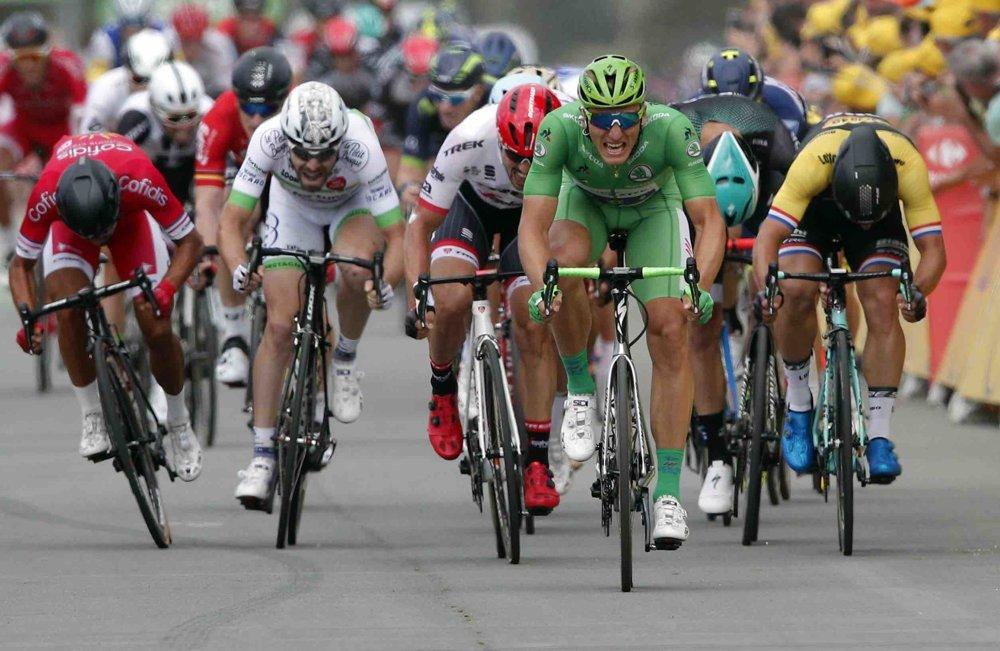 Nemecký cyklista Marcel Kittel je najrýchlejším jazdcom na Tour de France 2017.