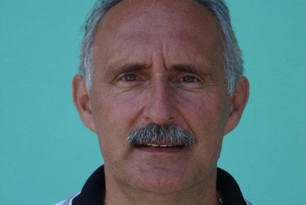Tréner Milan Špaček.