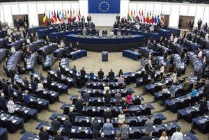 Rokovacia sála Európskeho parlamentu