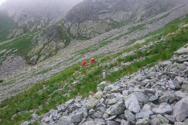 Záchranná akcia v Žiarskej doline.
