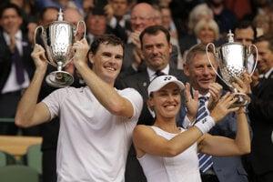 Jamie Murray a Martina Hingisová.