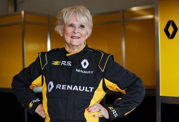 Rosemary Smithová sa stala najstaršou osobou, ktorá jazdila na monoposte F1.