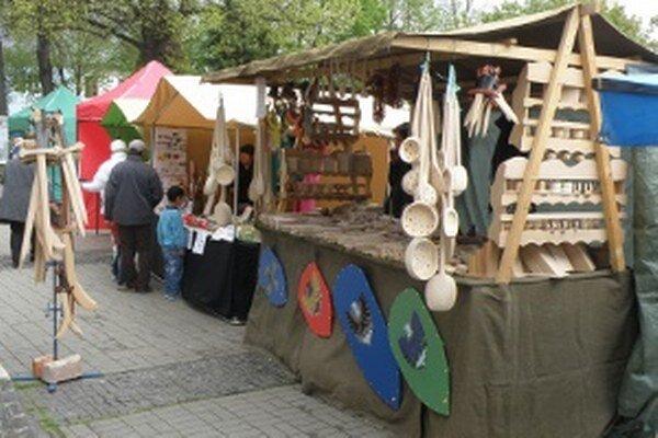 Veľkonočné trhy sú v centre Prievidze do 2. apríla.