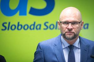 Predseda SaS Richarad Sulík.