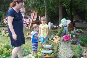 Postavička z kvetov vyhrala tohtoročný Kvet Podhradia.