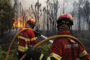 Aj Portugalsko trápia požiare.