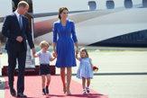 Princ William s manželkou Kate a deťmi navštívili Nemecko