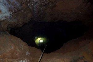 Prieskum Jazernej jaskyne.
