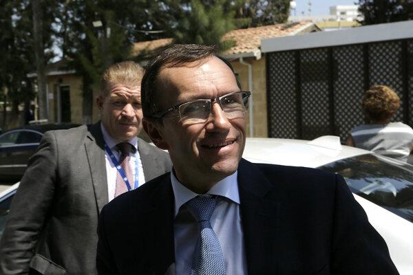 Osobitný vyslanec OSN pre Cyprus Espen Barth Eide.