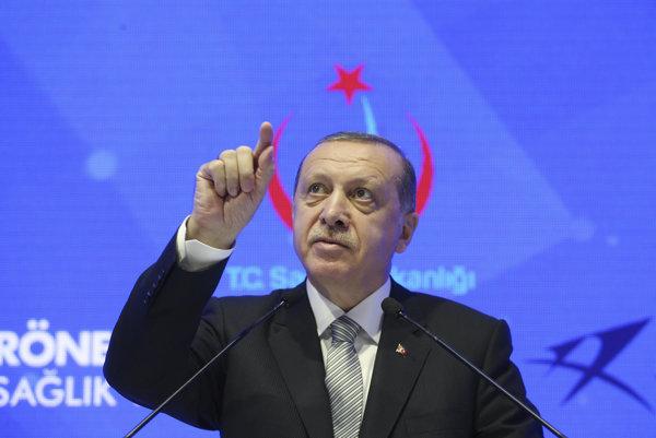 Turecký prezident Erdogan.