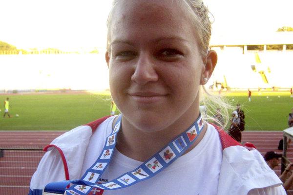 Slovenská atletická reprezentantka Ivana Krištofičová, archívna snímka.