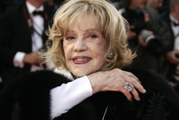 Jeanne Moreau mala 89 rokov.