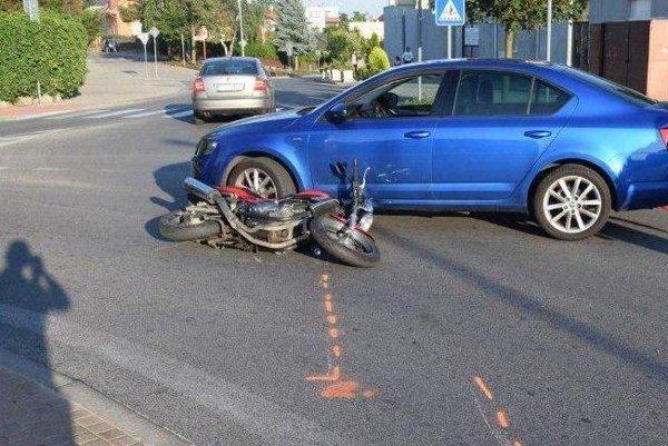 Dopravná nehoda sa stala 2. júla v Zavare.