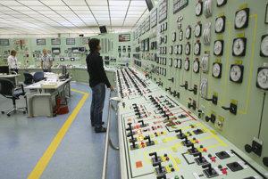 Kontrolná miestnosť jadrovej elektrárne v Santa Maria de Garona.