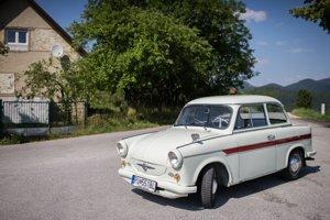 Unikátny Trabant 600 z prvej série 266 kusov týchto východonemeckých automobilov, ktoré v roku 1963 doviezli do Československa.