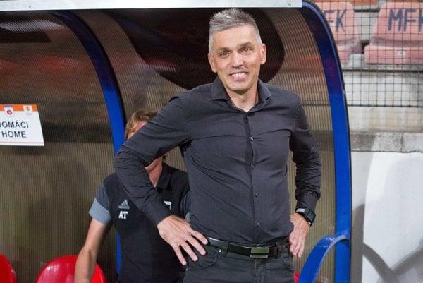Tréner Norbert Hrnčár. FOTO: TASR