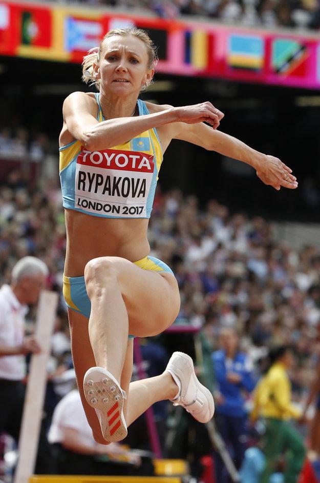 Kvalifikáciu trojskoku vyhrala Olga Rypakovová.
