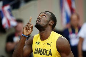 Usain Bolt štvrté svetové zlato zo stovky nepridal.