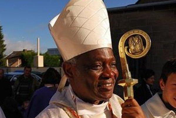 Ghanský kardinál Peter Turkson.