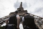 Eiffelova veža.