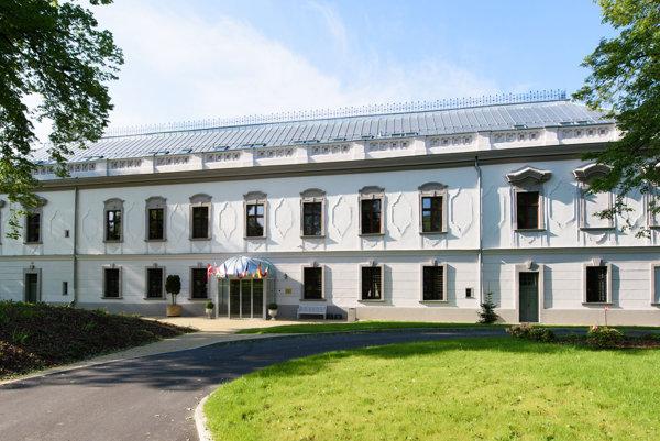 Novým objektom pre ubytovanie v kraji je aj zrekonštruovaný kaštieľ v orlovom.