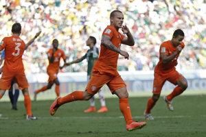 Wesley Sneijder je legendou holandského futbalu.