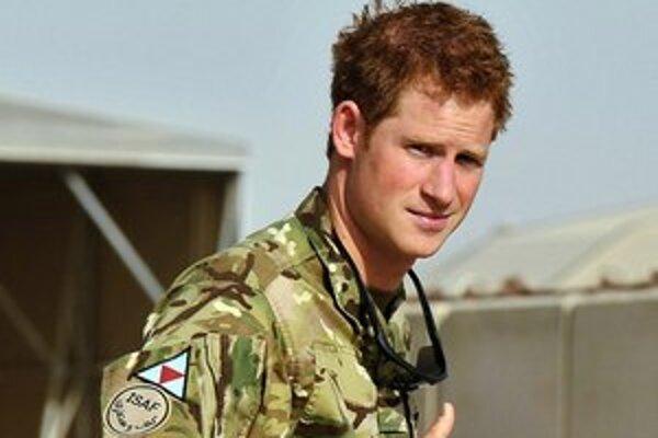 Princ Harry vraj zabíja Afgancov pod vplyvom alkoholu.