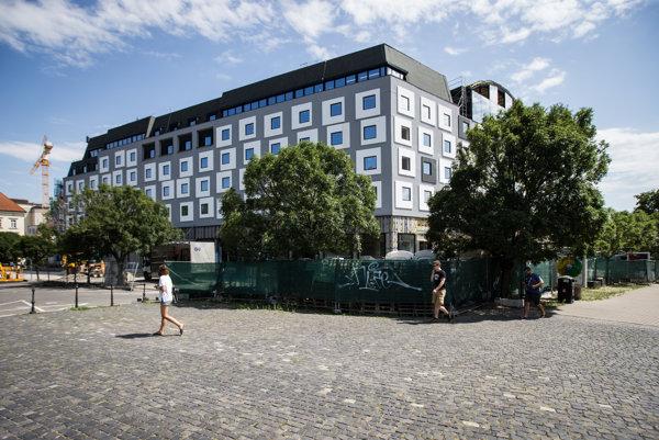 Bývalý hotel Danube.