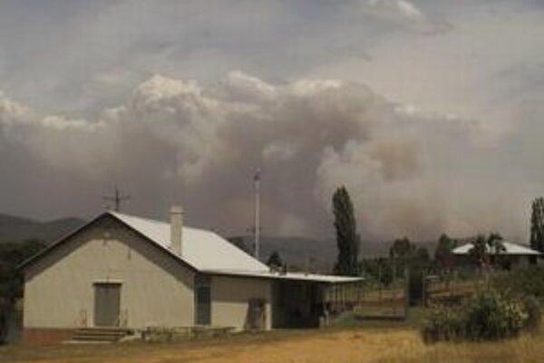 Požiar v Novom Južnom Walese.