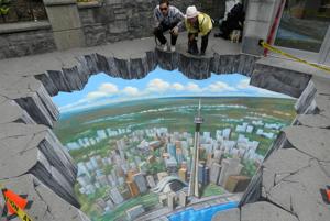 Keď sa sci-fi stáva realitou: iný svet pod prepadnutým chodníkom naozaj existuje – aspoň v Toronte.