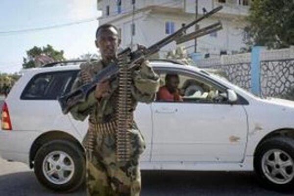Vojak Africkej únie.