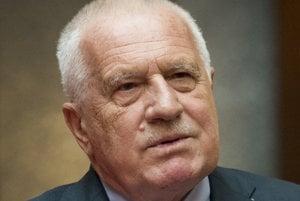 Bývalý prezident Českej republiky Václav Klaus.