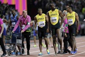 Jamajskí šprintéri vinia organizátorov za Boltovo zranenie.